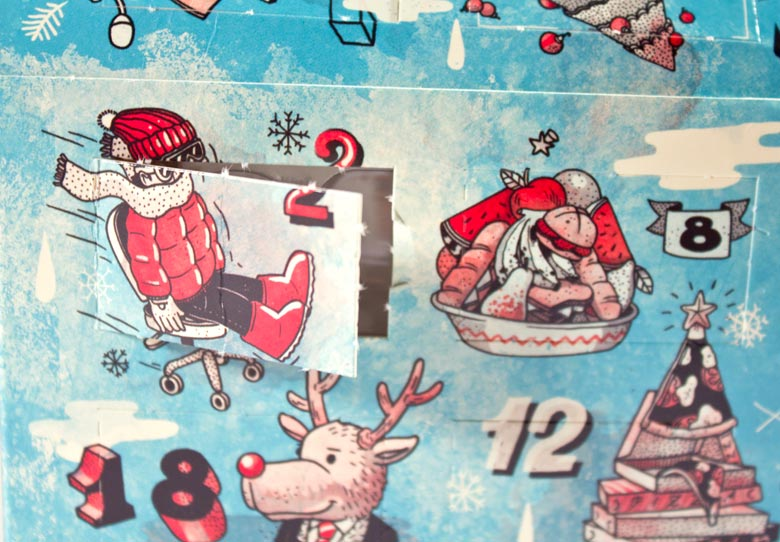 Martin Krusche - Illustration advent calendar »BUTTER«