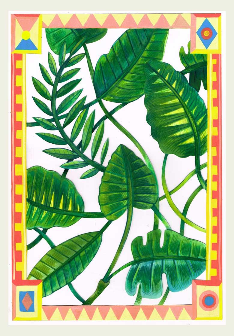 »Blätter#2« Illustration - Martin Krusche