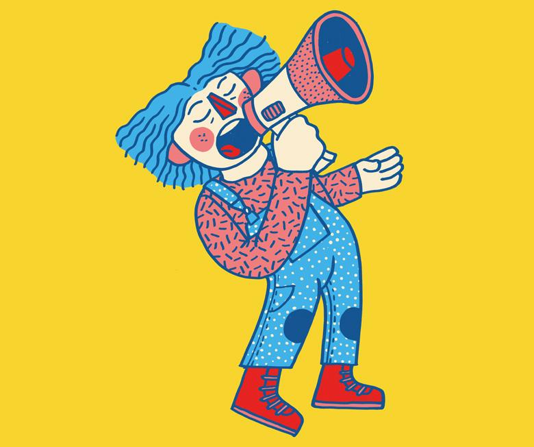 Illustration »Festival der Linken 2019« - Martin Krusche