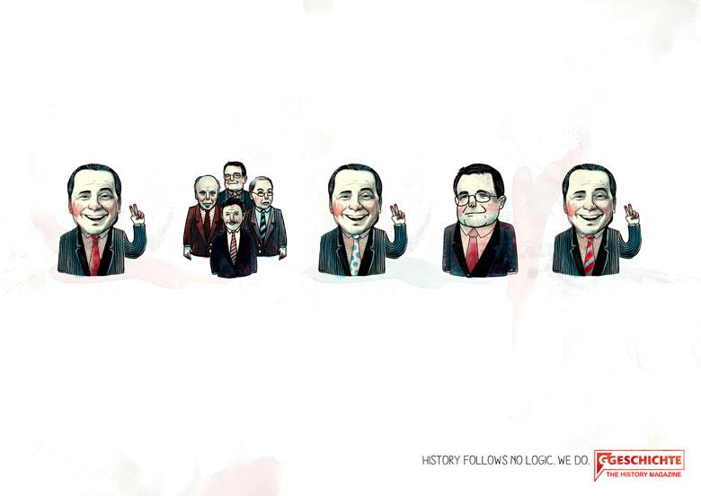 Martin Krusche - Illustration- »History Campaign«