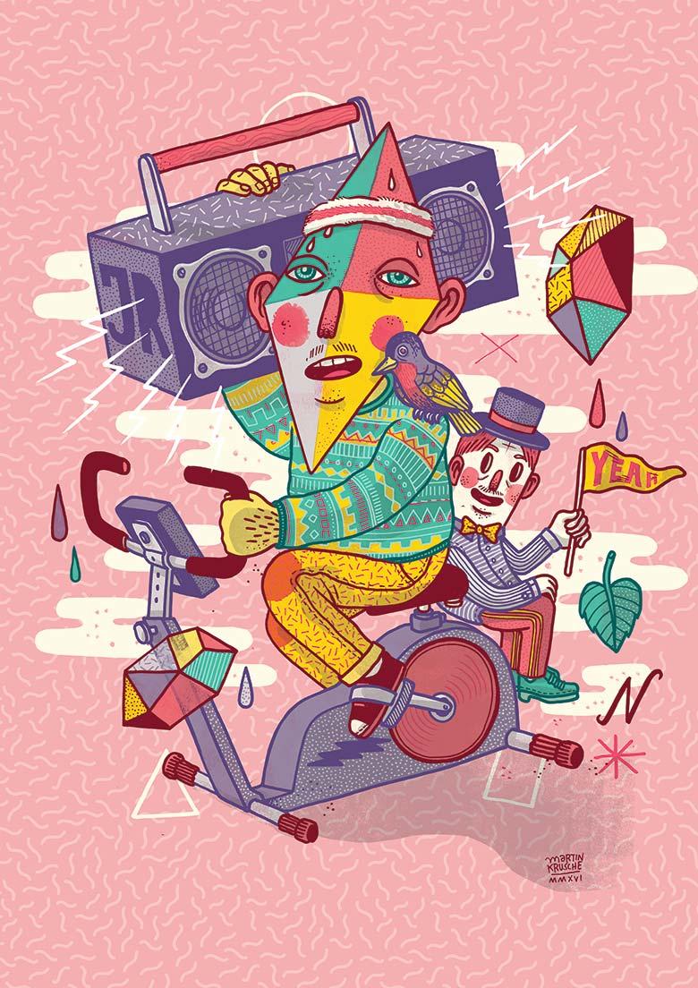 »John Reed« Illustration - Martin Krusche