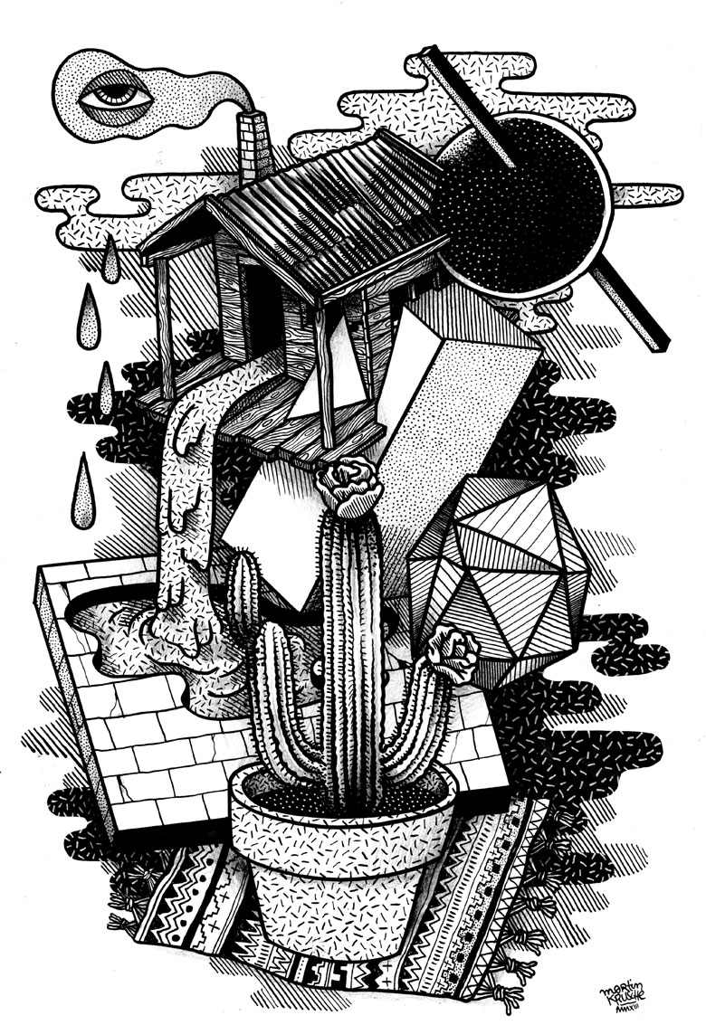 Martin Krusche - Illustration - »Lauben World«