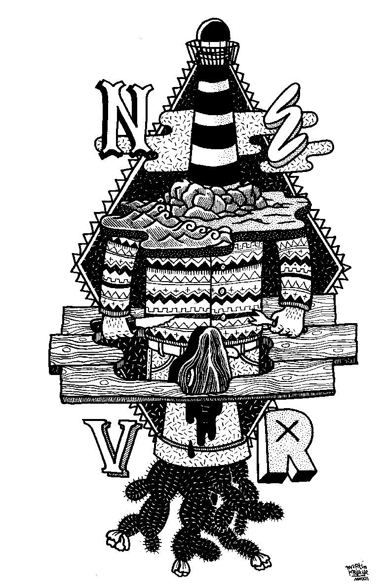 Martin Krusche - Illustration - »Leuchtturm«