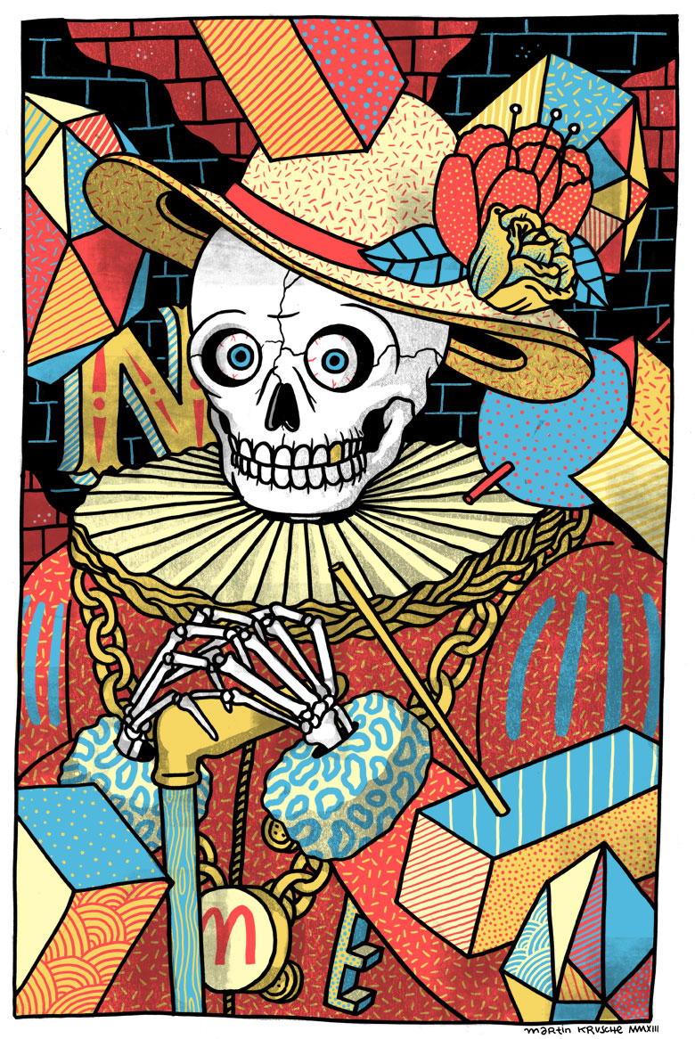 Martin Krusche - Illustration- »Lord Skull«