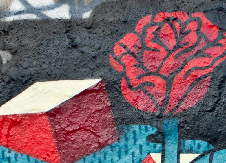 Martin Krusche - Wall Art - »Blume und Sarg«