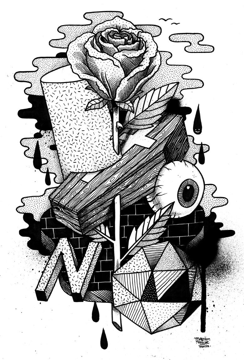 Martin Krusche - Illustration - »Memento Mori«