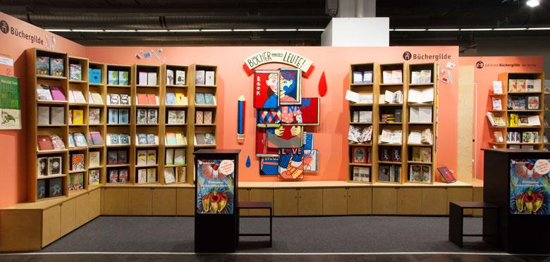 Messestand 2016 Büchergilde - Martin Krusche