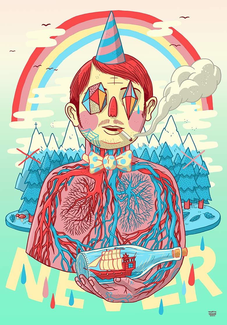 Martin Krusche - Illustration - »Mr.Anatomy«