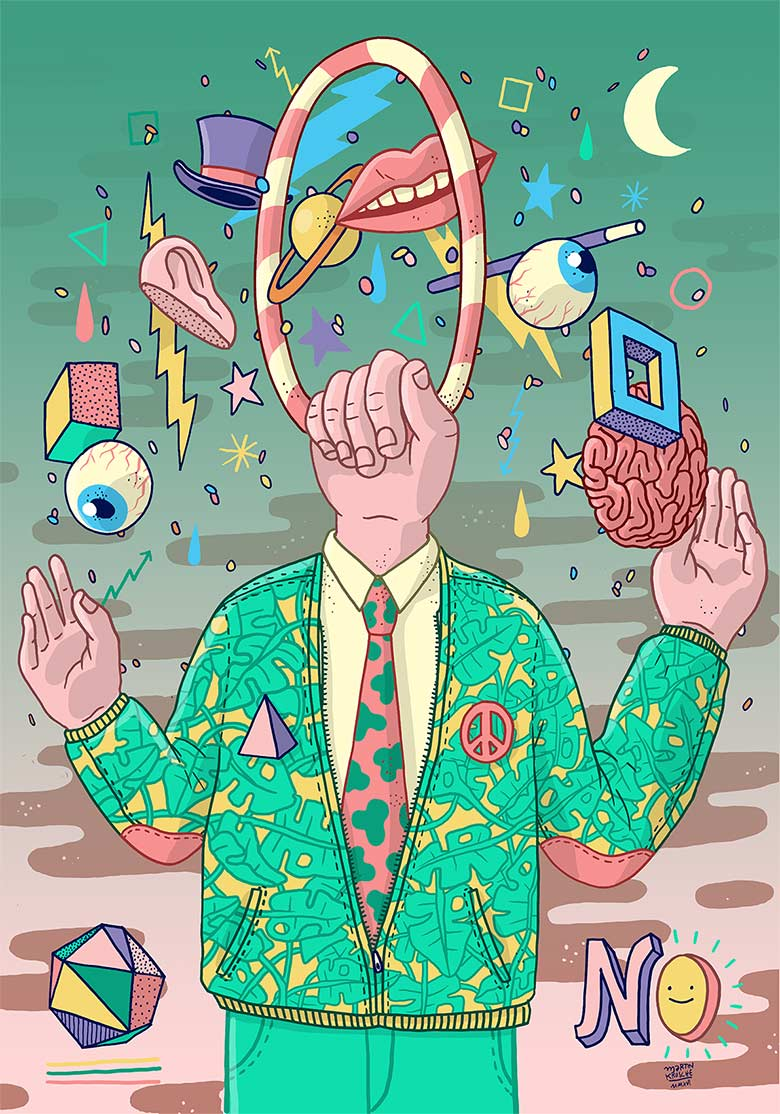 Martin Krusche - Illustration - »Mr.Magic«