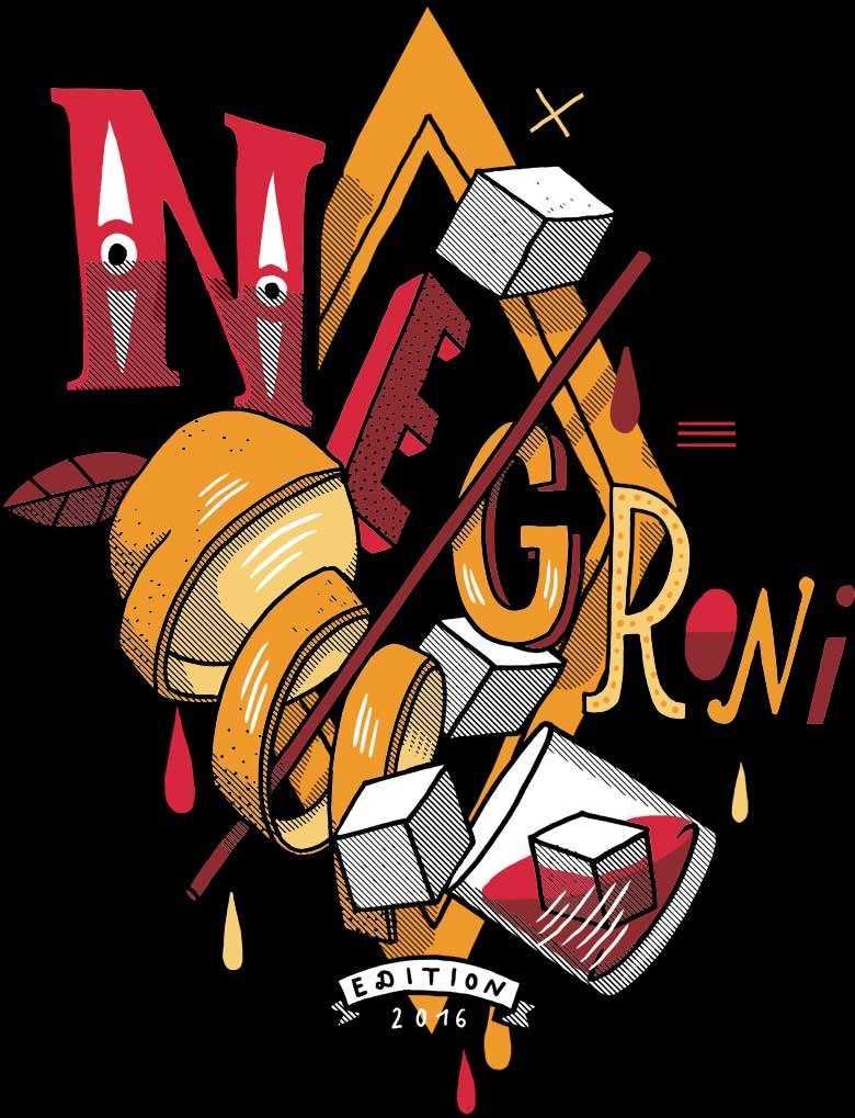 Martin Krusche - Shirt design »Negroni week«