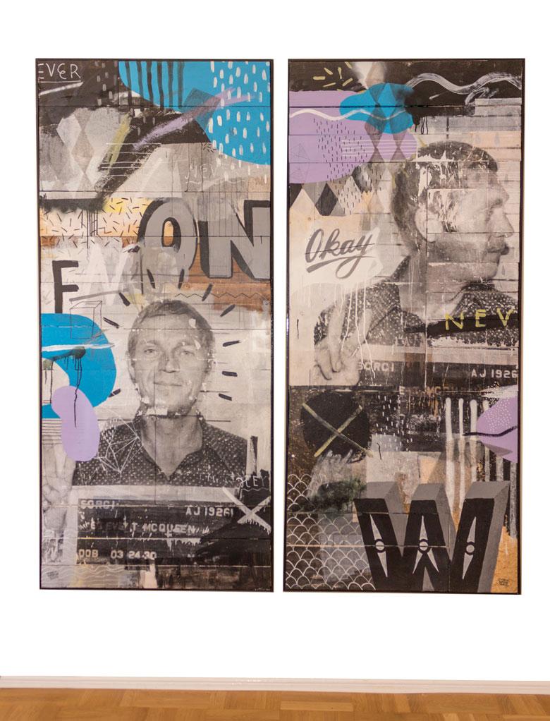 »Steve McQueen« Artwork- Martin Krusche
