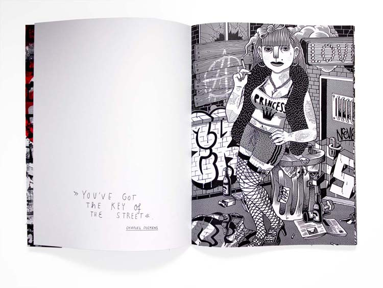 Martin Krusche - Publication - »Superzine Nr. 2 The Streets«