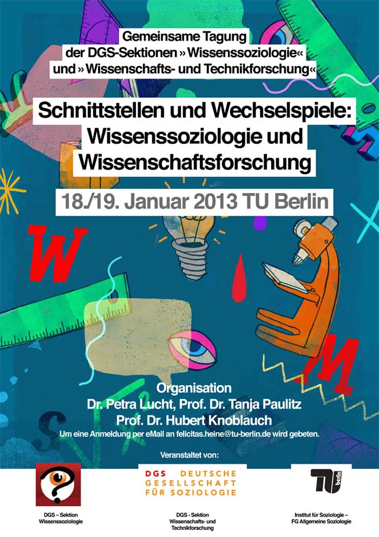 Martin Krusche - Illustration/Layout - Poster for TU Berlin 2013