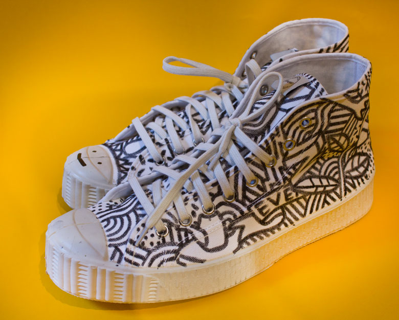 Martin Krusche - Fashion Design- »Painted Shoes«