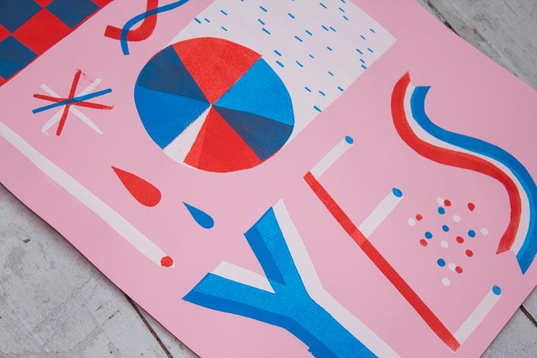 Art prints Illustration »Yes« - Martin Krusche