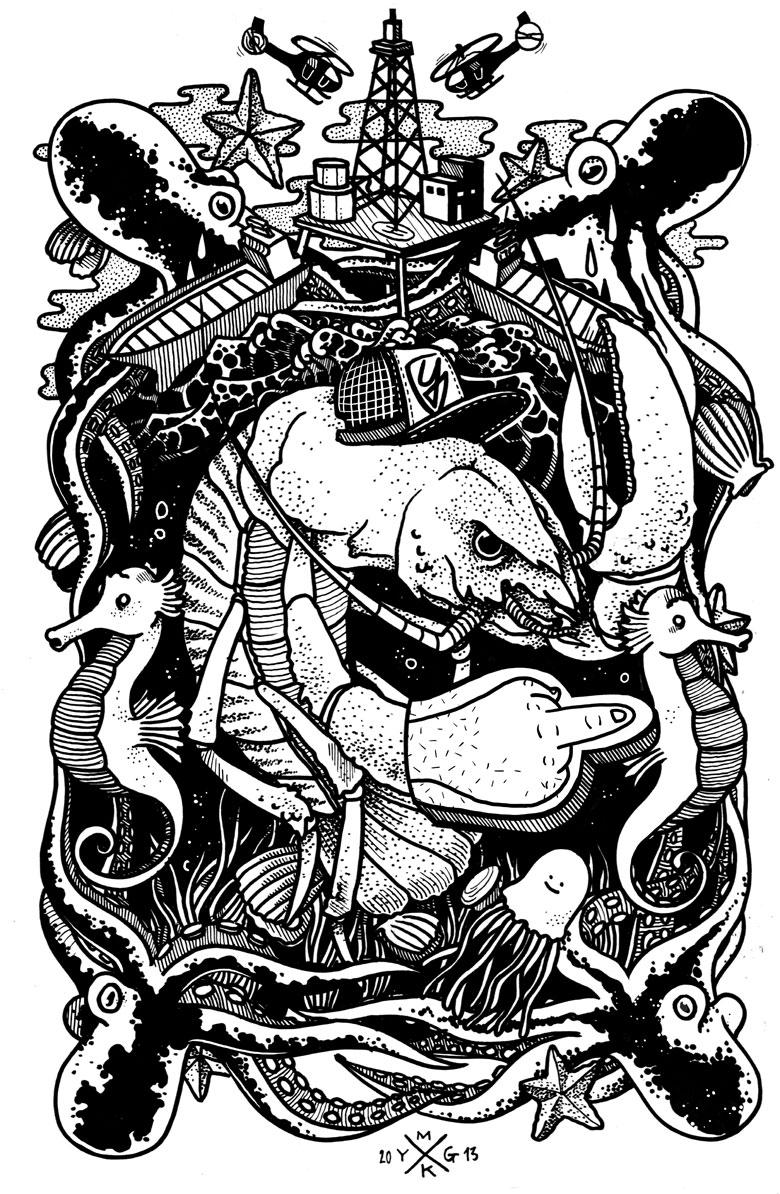 Martin Krusche - Illustration- »Subsea«