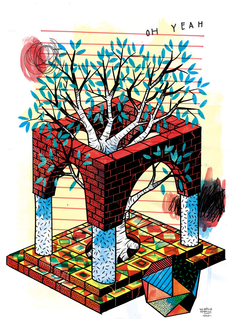 Martin Krusche - Illustration- »Baum«