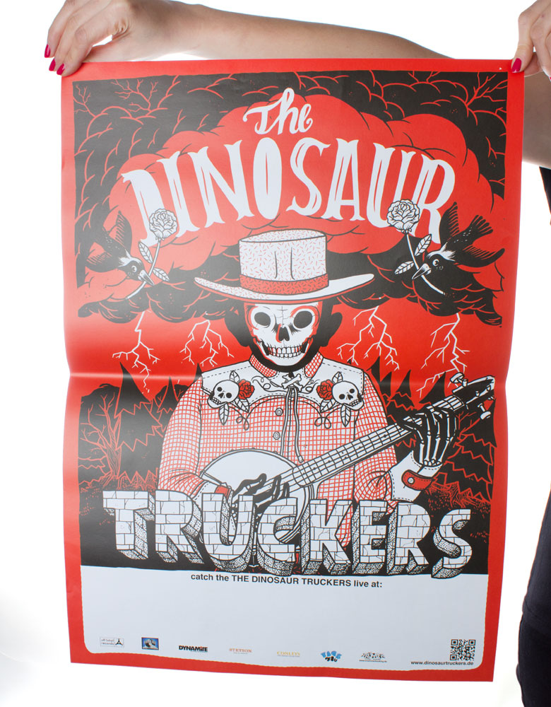 Martin Krusche - Illustration/Webdesign- »Dinosaur Truckers«