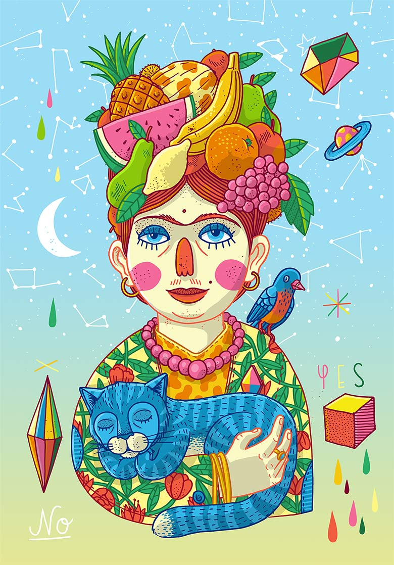Martin Krusche - Illustration - »Frida«