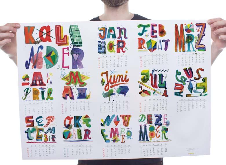 Martin Krusche - Illustration »YACKFOU calendar 2016«