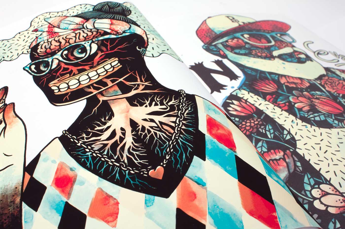 Martin Krusche - Illustration - Superzine »Vanitas«