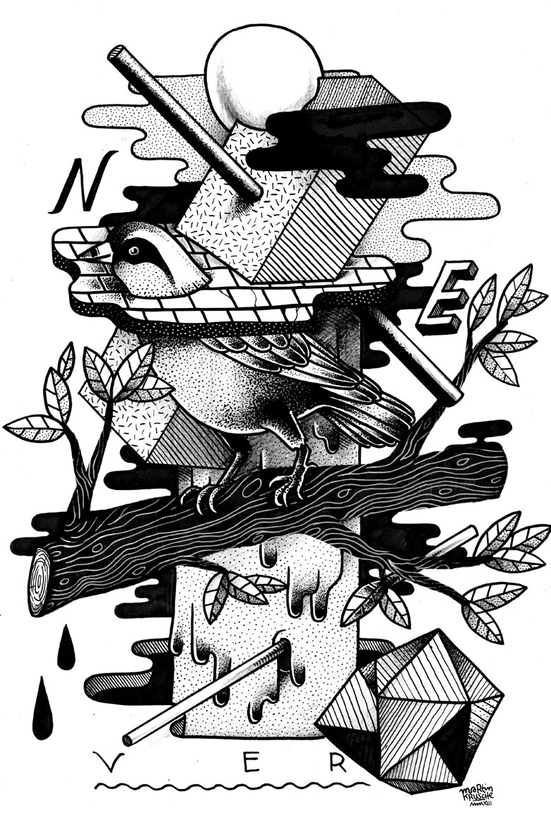 Martin Krusche - Illustration - »Birdy World«