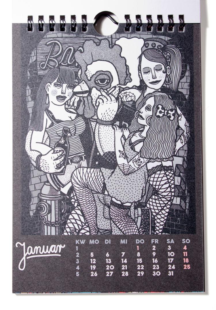 Martin Krusche - Publication - YACKFOU calendar 2015